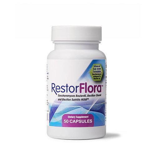 RestorFlora - Spore + Yeast Probiotic