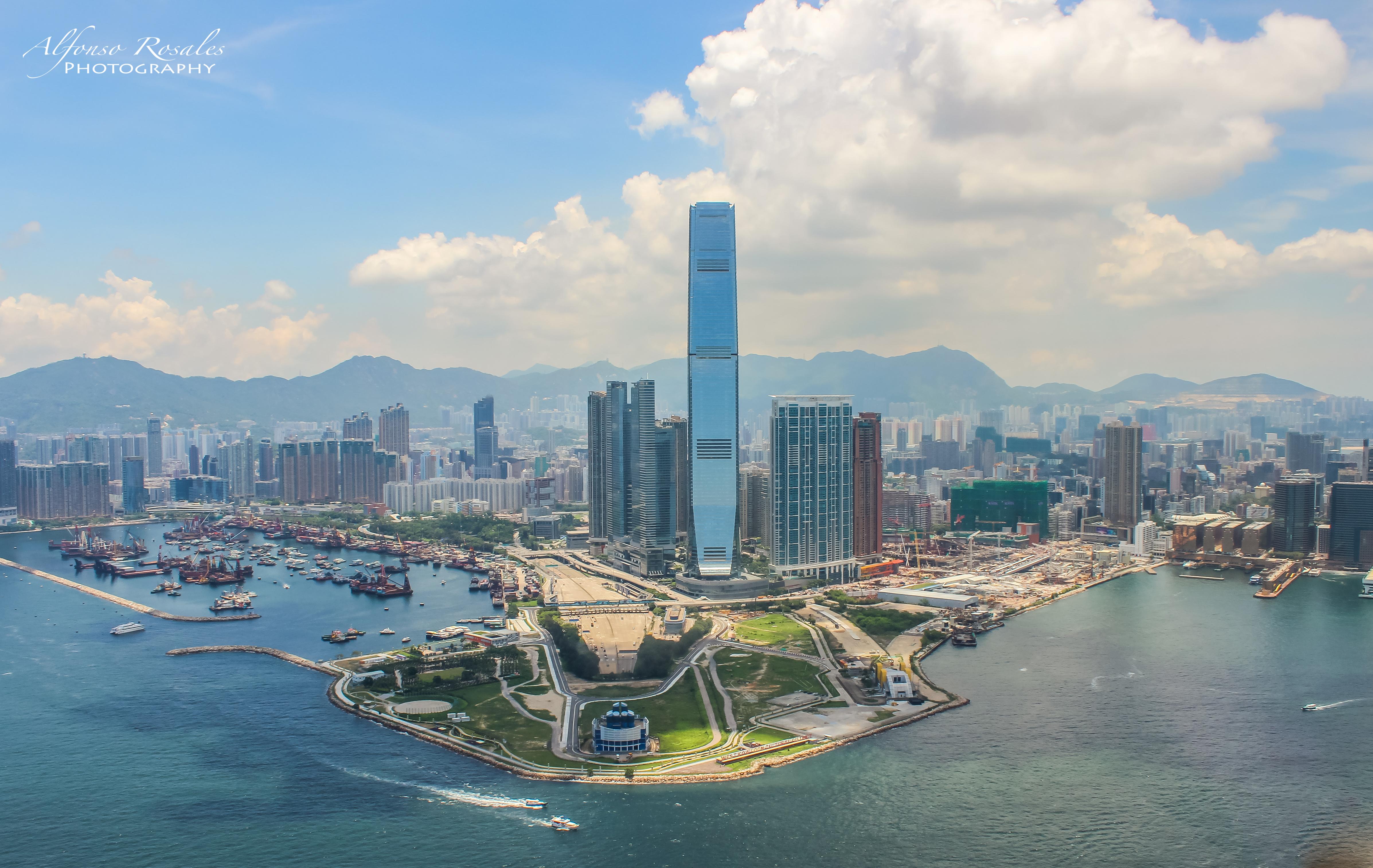 HK desde Helicomptero