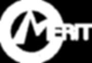 White on Black MERIT logo.png