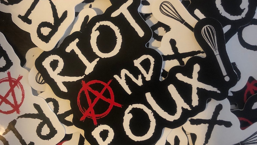 Riot and Roux! Sticker