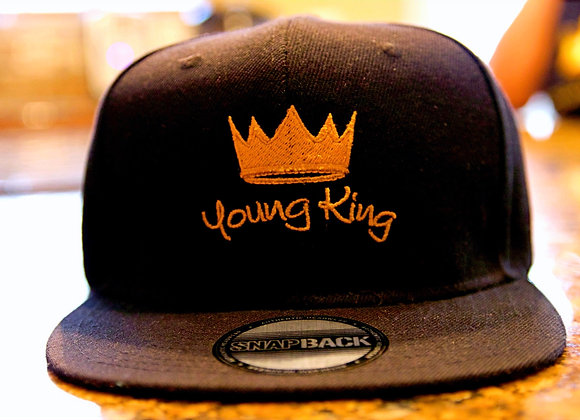 'Young King' Black Cap