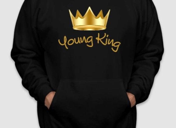 'Young King' Black Hoodie