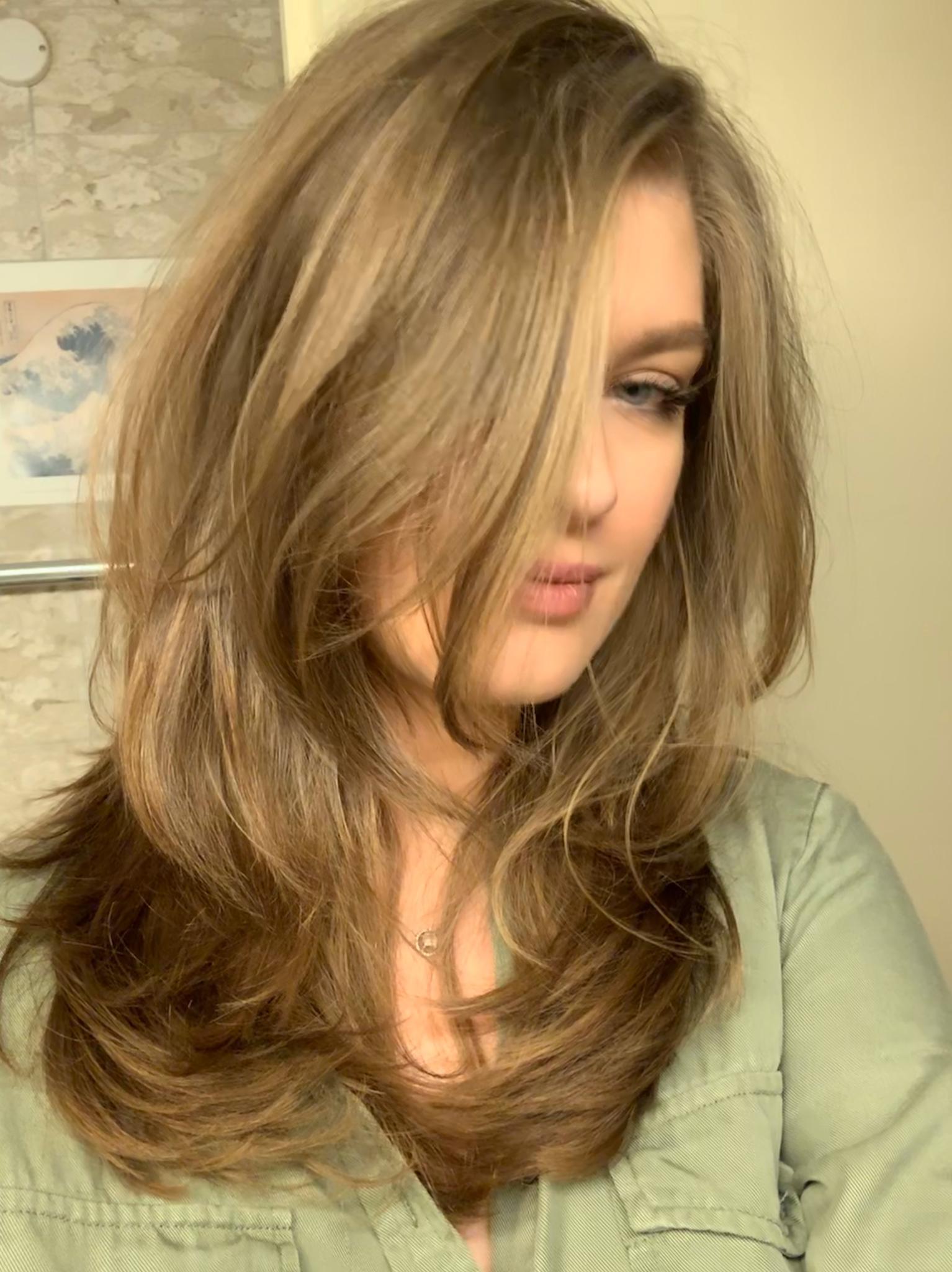 Frauen Haarschnitt / Women Hair cut