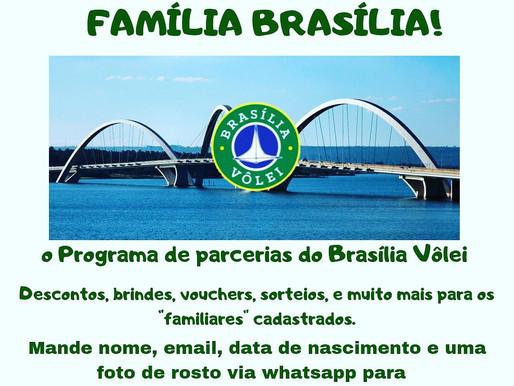 Bem vindos ao Programa Família Brasilia