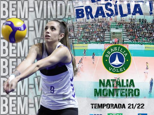 Brasília Vôlei anuncia contratação da ponteira Natália Monteiro