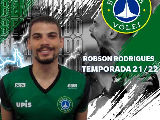 Brasília Vôlei anuncia contratação do ponteiro Robinho