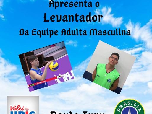 Upis/Brasília Vôlei apresenta Paulo Iury