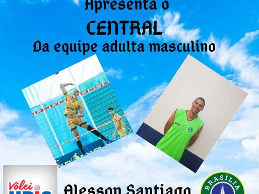 Alesson Santiago se apresenta a Upis/Brasília vôlei para a Superliga B 2020