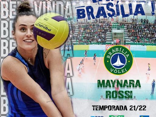 Brasília Vôlei anuncia contratação da levantadora Maynara Rossi