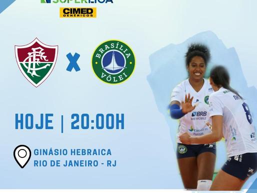 BRB - Brasília Vôlei faz hoje, o último jogo do ano.