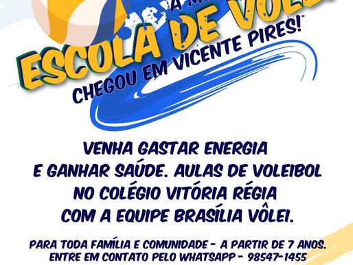 Brasilia Vôlei perto de você!