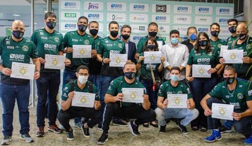 Moção de Louvor e Agradecimento a equipe masculina do Brasília Vôlei pelo acesso a superliga A.