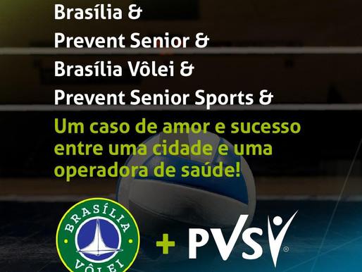 Brasília Vôlei anuncia nova parceria com a Prevent Senior Sports
