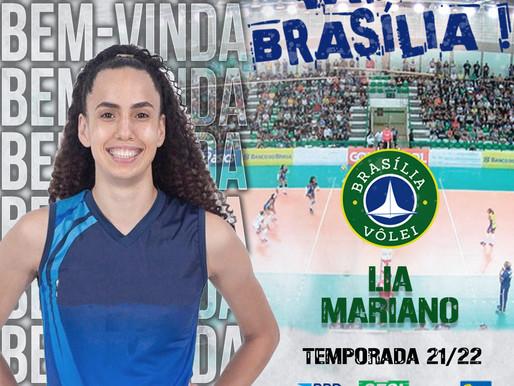 Brasília Vôlei anuncia contratação da central Lia Mariano