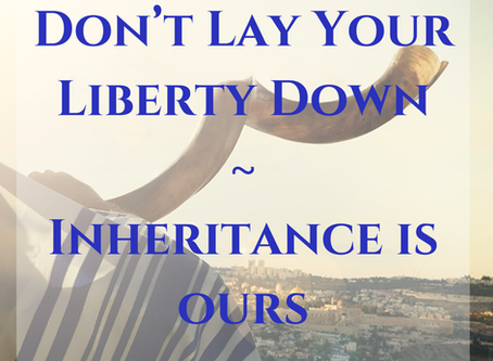 Don't Lay Your Liberty Down!