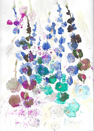 Paper petals 1