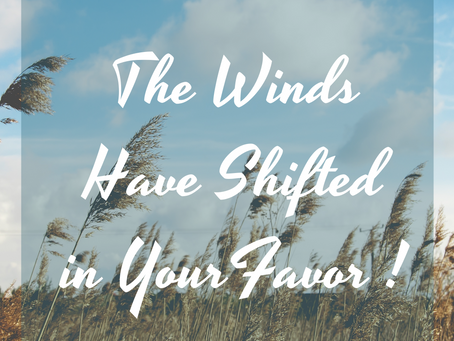 Winds Have Shifted in Your Favor! It's Time to Call on the Harvesting Angels