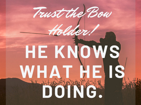 DISCONTENT IS IN THE AIR BUT TRUST THE BOW HOLDER!