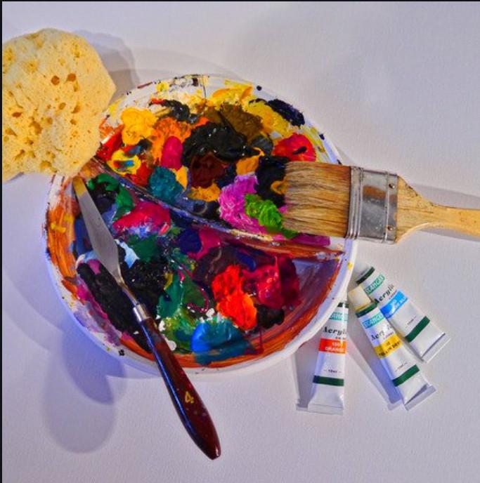 Dionne White art blog paint