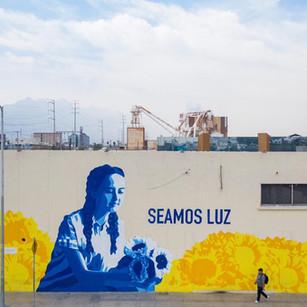 """Mural """"Seamos Luz"""""""
