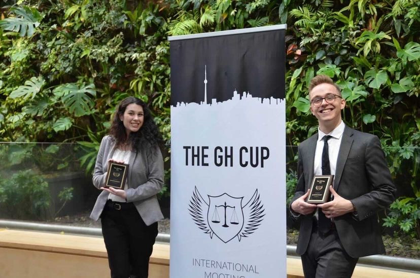Miranda Lacalamita and Michael Mcrae at GH Cup 2019