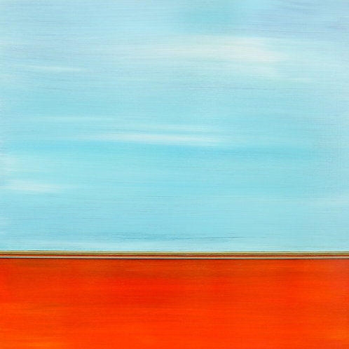 """Line of Vision (30""""x30"""")"""