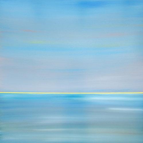 """Blue Grey Day (36""""x36"""")"""