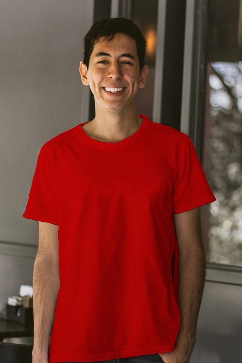 Red Plain Tshirt