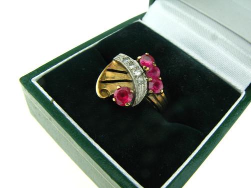 טבעת רטרו