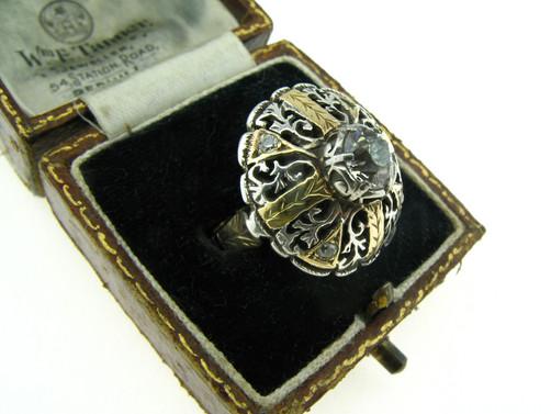 טבעת פלורנטין ארט-נובו