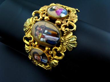 צמיד שוויצרי המאה ה-18