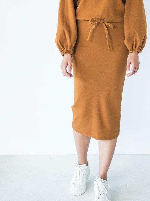 PAPINEAU jupe (Caramel)