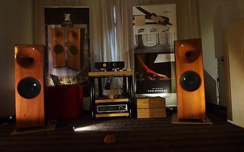 Zingali na wystawie AudioShow 2013 - GFmod Audio Research
