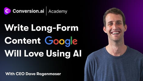 Write Long-Form Content Google Will Love with AI