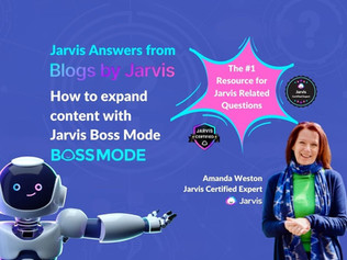 Jarvis Answers: How to expand content in Jarvis Boss Mode