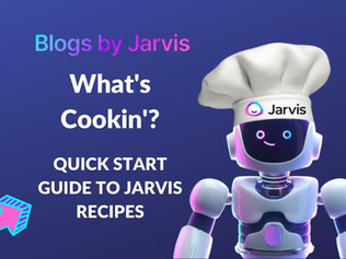 What's cookin' over at Jarvis HQ? Jarvis Recipes!