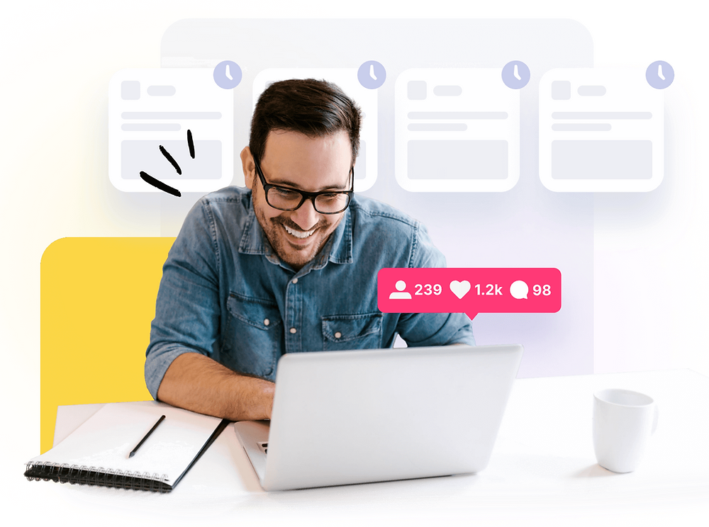 Grow your social presence the smart way - Missinglettr