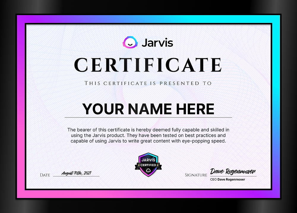 Blogs by Jarvis - Get Jarvis Certified!