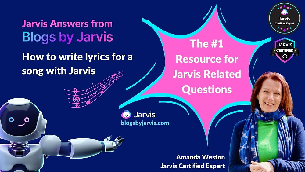 How to write song lyrics with Jarvis