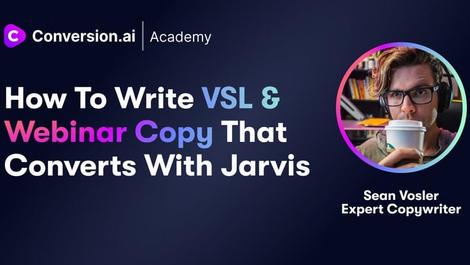 Write VSL & Webinar Copy that Converts