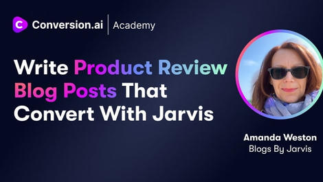 Write Product Review Blog Posts That Convert With Jarvis