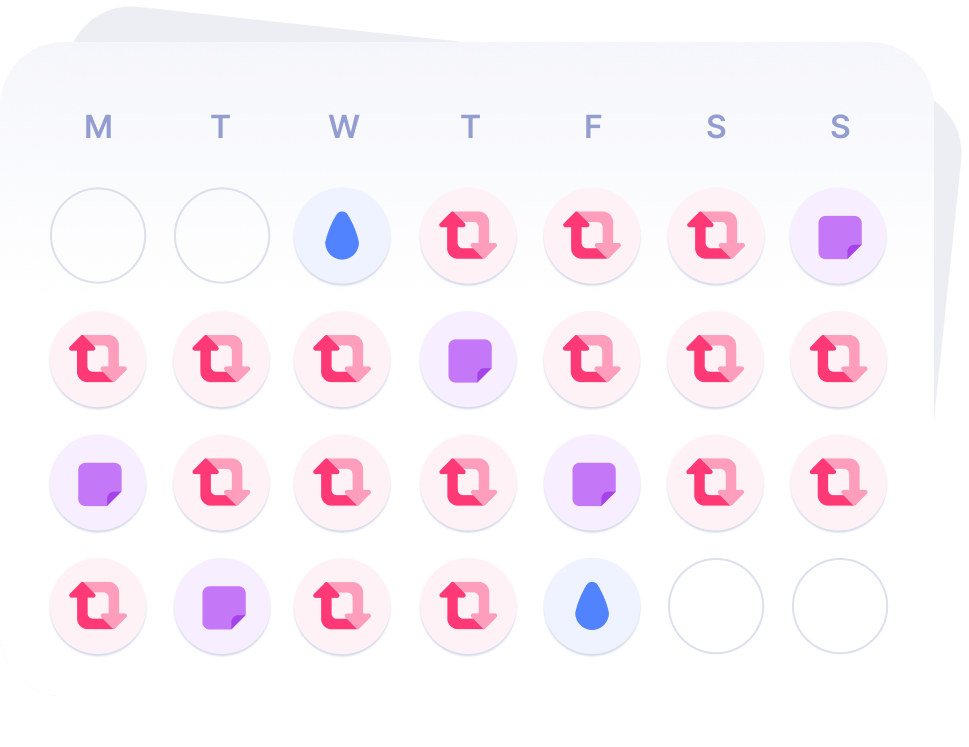 Review, schedule, and create new content with a multi-purpose Calendar