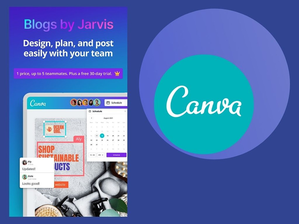 Canva Teams for your social media marketing - Blogs by Jarvis