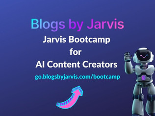 How to take the Jarvis Bootcamp for AI Content Creators