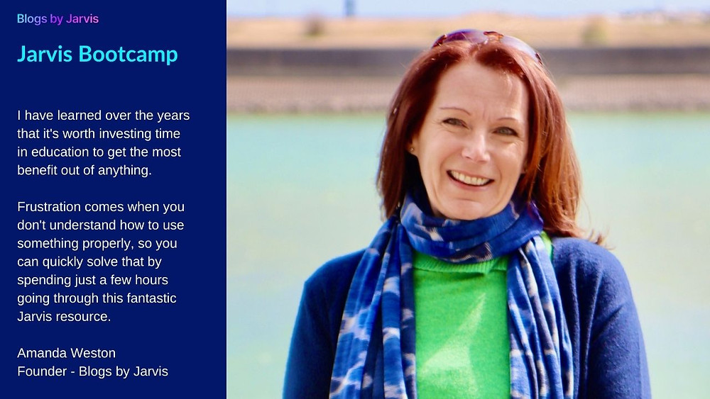 Amanda Weston - Founder - Blogs by Jarvis
