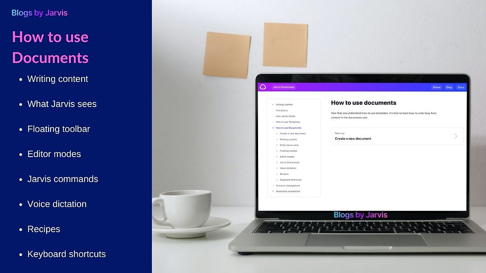 How to use Documents - Blogs by Jarvis