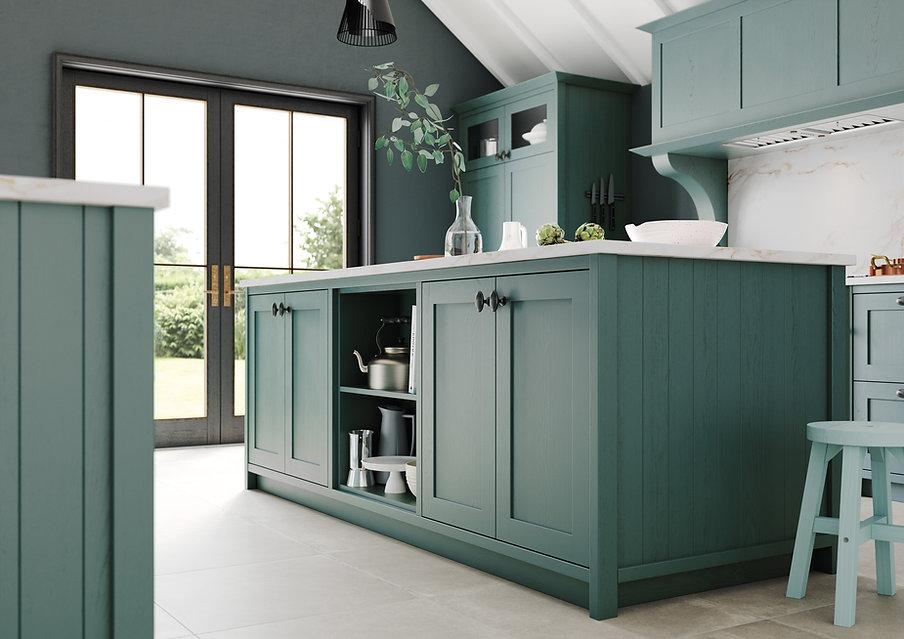 Gaddesby Kitchens - Thornham Viridian