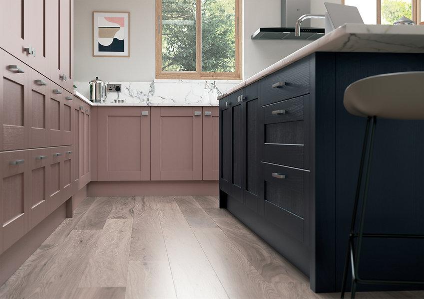 Madison Vintage Pink and Slate Blue_Came