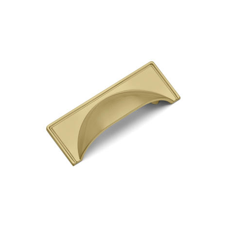 Windsor Cup Small - Satin Brass