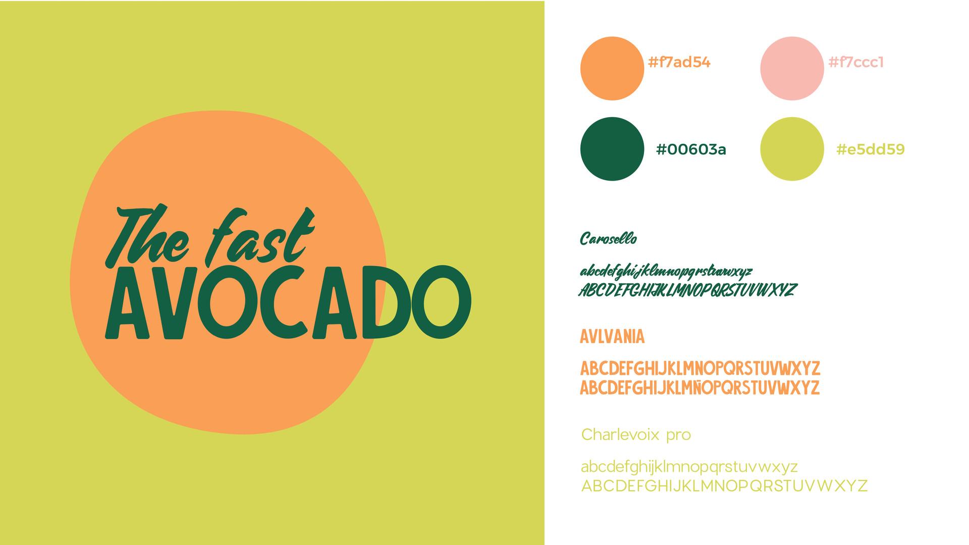 Logo The fast avocado
